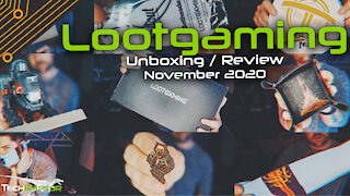 LootGaming Lootcrate   November 2020 Unboxing & Review