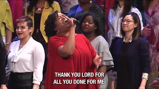 """Thank You"" sung by the Brooklyn Tabernacle Choir"