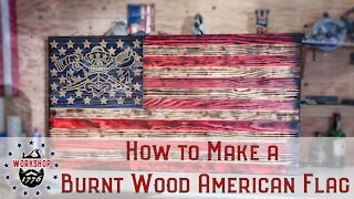 How to make a HUGE wooden American Flag