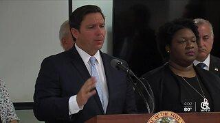 Governor DeSantis addresses health emergency