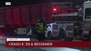 Crash at East 55th Street and Bessemer