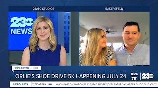 Live interview: Orlie's Shoe Drive