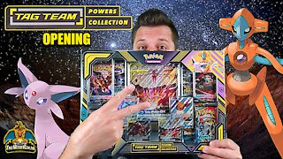 Tag Team Powers Collection #2 | Espeon & Deoxys GX | Pokemon Cards Opening