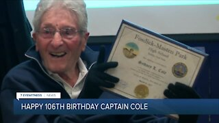 WWII veteran from Buffalo celebrates 106th birthday