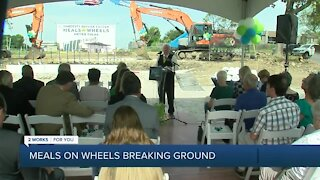 Meals on Wheels breaks ground on new facility in Tulsa