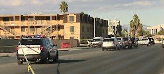 Deadly crash in Las Vegas