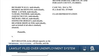 State of Florida sued after unemployment woes for weeks