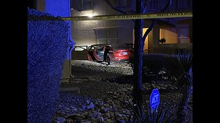 Car crashes into North Las Vegas home following chase