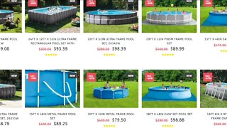 Looking for a pool? Watch out for scams