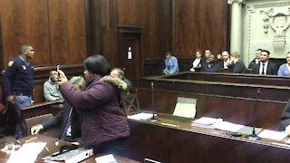 SOUTH AFRICA - Cape Town - Rob Packham murder trial (video) (PiP)