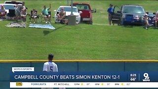Campbell County beats Simon Kenton 12-1