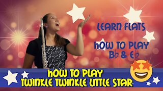 How To Play Twinkle Twinkle Little Star | Solo, Round, Duet | Flute Lesson 3 | Musician's Addition
