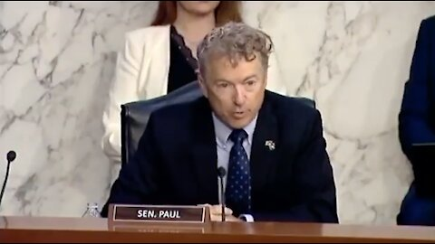 Rand Paul EXPOSES HHS Secretary for Ignoring Science!!! + What's Inside the COVID-19 Vaccines?