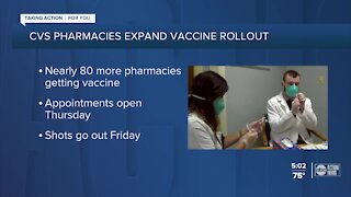 Gov. DeSantis, CVS Health announces 76 additional COVID-19 vaccine sites