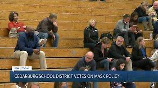 Cedarburg School District votes on mask policy