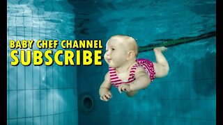BABY CHEF CHANNEL - SWIMMING WITH JOY LIVING WITH THE FAMILY