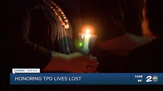Tulsa Police Department honors fallen officers