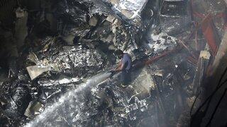 Pakistan International Airlines Plane Crashes In Karachi