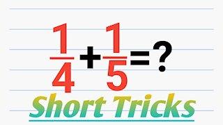 Easy math shortcut tricks magic fraction part 2