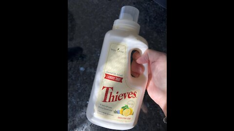 Thieves Laundry Soap means no chemicals!