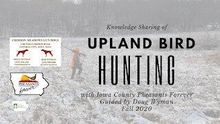 Iowa Outdoor Adventures - Doug Wyman Iowa County Pheasant Hunt