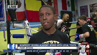 Nonprofit boxing academy works with local youth in Fort Myers