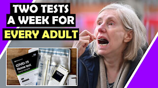 TWO Tests A Week For EVERY ADULT! / Hugo Talks #lockdown