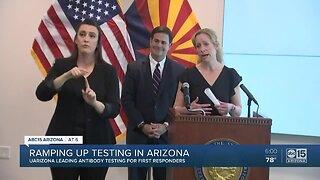Ramping up testing in Arizona