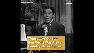 'Gunsmoke' Co-Star Ken Curtis Was Also a Country Music Singer