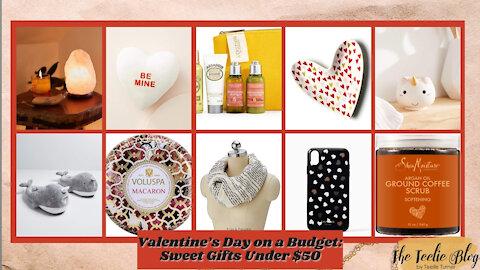 The Teelie Blog | Valentine's Day on a Budget: Sweet Gifts Under $50