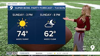 A beautiful weekend for Super Bowl parties