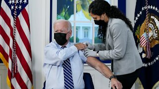 President Biden Receives His COVID-19 Booster Shot