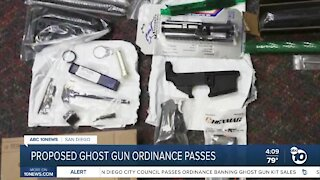 San Diego City Council passes proposed ghost gun ban