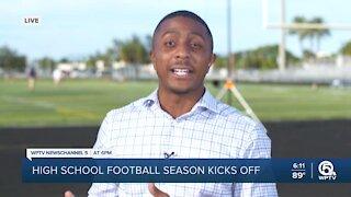 High School football is underway in South Florida