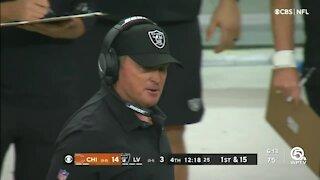 Jon Gruden resigns as head coach of the Raiders