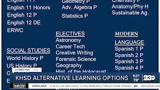 KHSD offering independent study options for students not wanting to return to campus this year