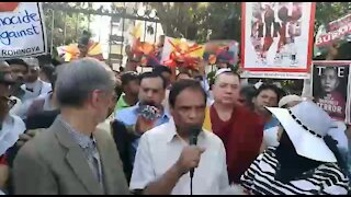 Pro-Rohingya Pretoria protest turns into chaos (KU8)