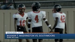 Booker T. Washington blows out Southmoore 51-7