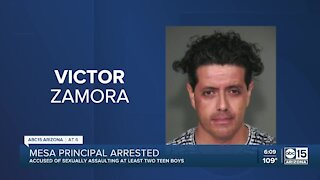 Principal of Mesa charter school accused of sexual misconduct
