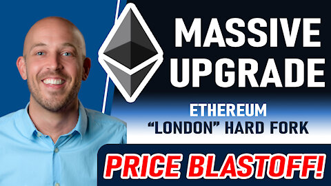 🔵 MASSIVE Ethereum UPGRADE! My Price Prediction | Watch ETH Burn in Real-time | London Fork, EIP1559