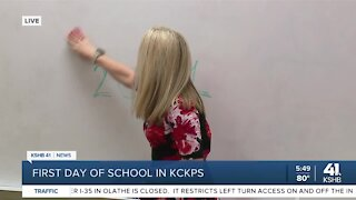 First day of school in KCKPS