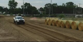 Going off road and on the track at Motor Bella.