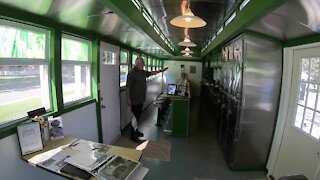 Historic Ward & Dickinson dining car is back in Silver Creek and now a museum