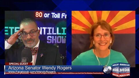"""AZ Senator Wendy Rogers: """"We The People Are More Important Than The Election Managers""""."""