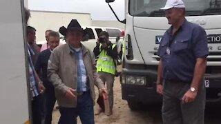 UPDATE 2 - Buchan arrives at Cape Town rally (2eG)
