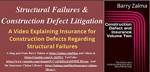Structural Failures & Construction Defect Litigation