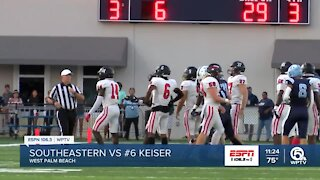 No. 6 Keiser upset in home conference game