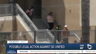 Possible legal action against SD Unified