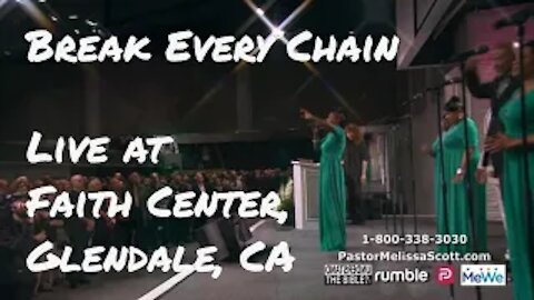 """Ray Sidney and Firm Soundation """"Break Every Chain"""" Live at Faith Center, Glendale"""