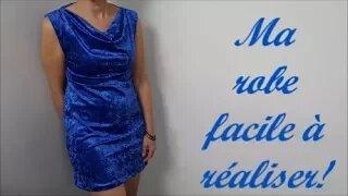 Couture facile :Comment coudre une robe simple-sans patron-!